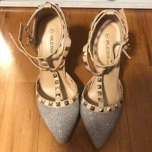Wild Diva Studded Heels 😍